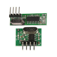 433Mhz transmitter WL102-341 and receiver WL101-341