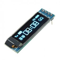 0.91 inch 128x32 OLED LCD Display Module Blue