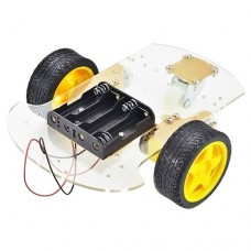 2WD Robot Car Chassis With 2 Motors