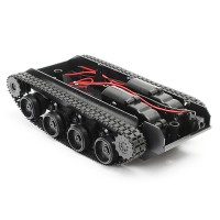 DIY Light Shock Absorbed Smart Tank Robot Chassis Car Kit
