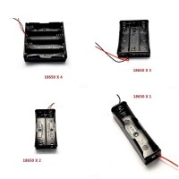 1x 2x 3x 4x 18650 Battery Storage Box Case