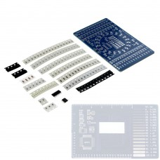 CD4017 Rotating LED SMD NE555 Soldering Practice Board