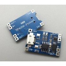 Micro USB 5V 1A 18650 Li-ion Battery Charger Module with protection