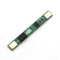 1S 3.7V 3A li-ion BMS PCM battery protection board