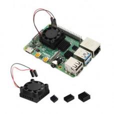 Fan with Heatsink Cooler Kit For Raspberry Pi 4B