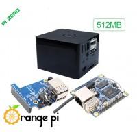Orange Pi kit: Orange Pi Zero LTS + expansion board + case